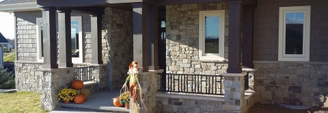 Install Beautiful Brick Pillars To Your Home