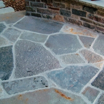 Stone & Brick Patio