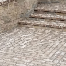 brick masonry patio